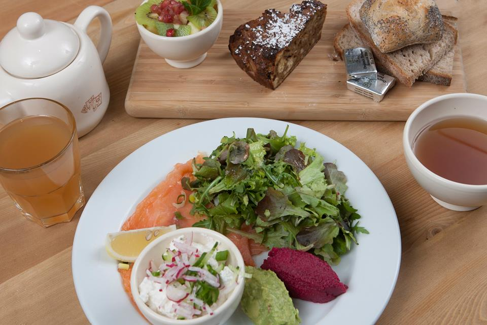 Le Pain Quotidien, Paris brunch