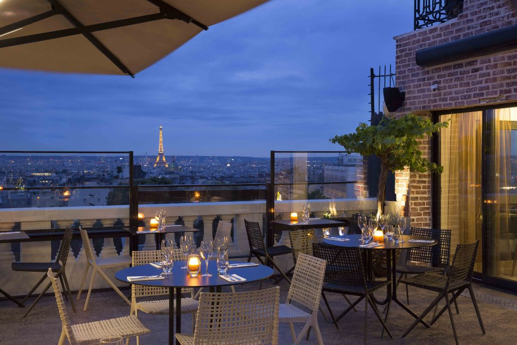 Photo courtesy of Terrass Hotel, by Christophe Bielsa, Montmartre
